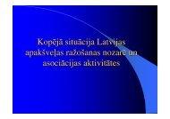 Kopējā situācija Latvijas apakšveļas ražošanas nozarē un ... - BT 1
