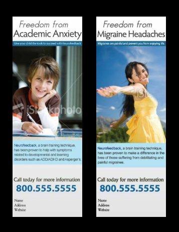 Academic Anxiety - EEG Info