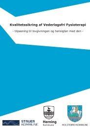 Kvalitetssikring af vederlagsfri fysioterapi.pdf - Struer kommune