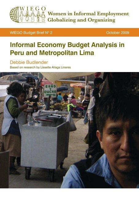 Informal Economy Budget Analysis in Peru and ... - WIEGO