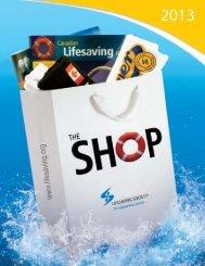 Shop Price List 2013 - Lifesaving Society