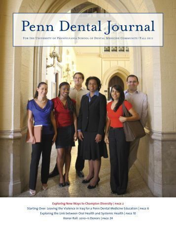 Penn Dental Journal - University of Pennsylvania School of Dental ...