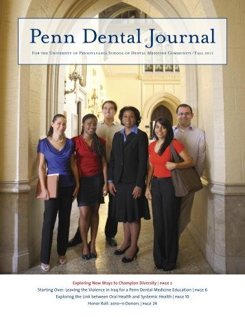 Penn Dental Journal - University of Pennsylvania School of Dental ...