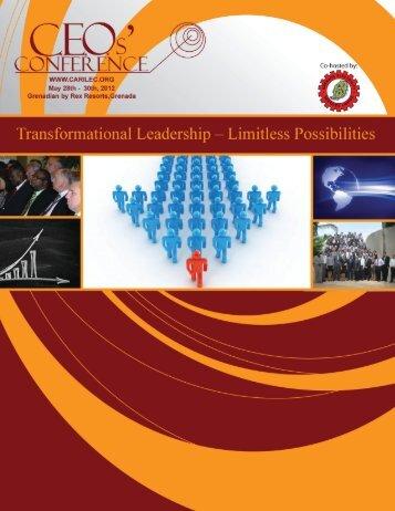 CEO Conference Brochure - Carilec