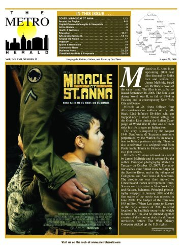 in this issue - The Metro Herald