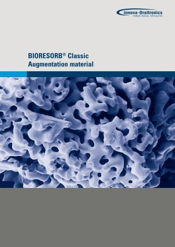 BIORESORB® Classic Augmentation material - Van der Tuin Implant