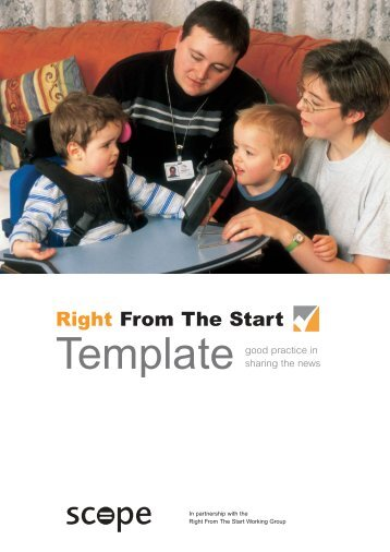 Right From The Start Template - Scope
