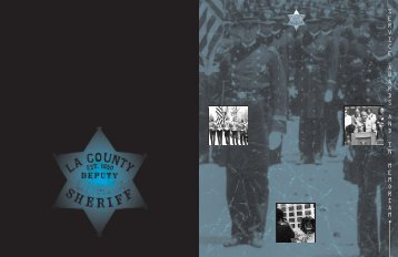 Service Awards and In Memoriam - Los Angeles County Sheriff's ...