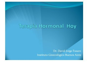 Dr. David Jorge Fusaro Instituto Ginecológico Buenos Aires - IGBA
