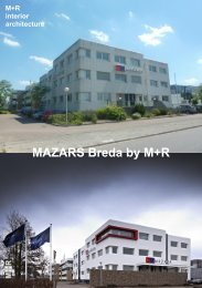 + Mazars Breda project sheet - M+R interieurarchitecten
