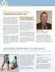 Fall 2009 - Columbus Community Hospital - Page 2