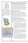 How to reduce toxic chemicals in your home - Minnesota Pollution ... - Page 2