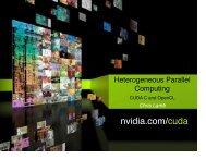 NVIDIANERSCJune2009.pdf Heterogenous Parallel Computing