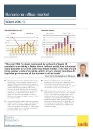 Barcelona Office Market - Winter 2009-10.qxp - Savills