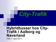 City-Trafik Hybridbusser hos City
