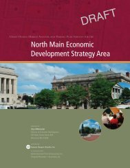 Draft North Main Economic Development Strategy - VHB.com