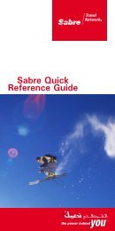 Sabre Quick Reference Guide - EmQuest