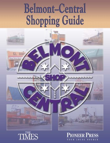 Belmont Central Shopping Guide - Communities - Pioneer Press