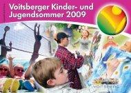Jugendveranstaltungen 2009 - Voitsberg