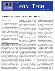 Solving an IP Practice Business Need with Patricia - Duane Morris LLP