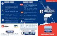 zgibanko za člane društev - klubov - Modra kartica