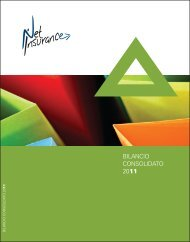 BILANCIO CONSOLIDATO 2011 - Net Insurance SpA