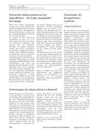 Fasziotomie bei Kompartmentsyndrom - Deutsche Zeitschrift für ...