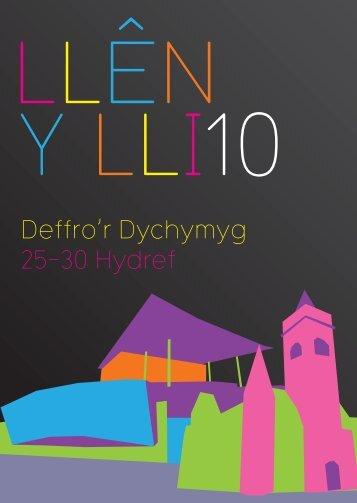Deffro'r Dychymyg 25-30 Hydref - Literature Wales