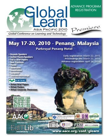 Global Learn - Association for the Advancement of Computing in ...