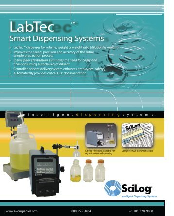 LabTec ™ - Advanced Instruments, Inc.
