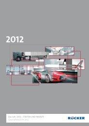 Das Jahr 2012 – FAKTEN UND INHALTE ... - Rücker AG