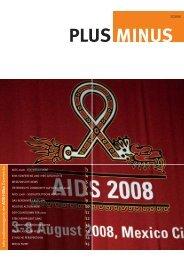 PlusMinus 3/08 - Die Aidshilfen Österreichs