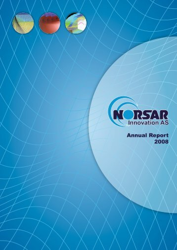 Annual Report 2008 - norsar