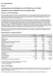 b+m Informatik AG Jahresabschluss zum Geschäftsjahr vom 01.01 ...