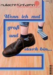 Ausgabe 05 - MÄRZ 2008 - Wenn ich mal groß und ... - KSJ Mainz