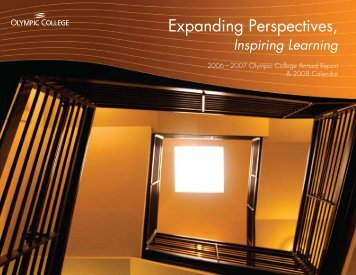 Expanding Perspectives, Inspiring Learning - Olympic College