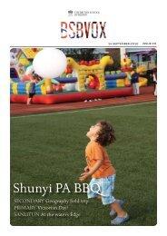 Newsletter for 14 September 2012 - Nord Anglia Education