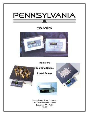 full service manual pennsylvania scale company rh yumpu com