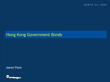 Presentation - The Hong Kong Capital Markets Association