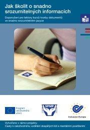 Jak školit o snadno srozumitelných informacích - Společnost pro ...