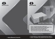 Manual Secure Paper & Media Cooler - Safe Runner