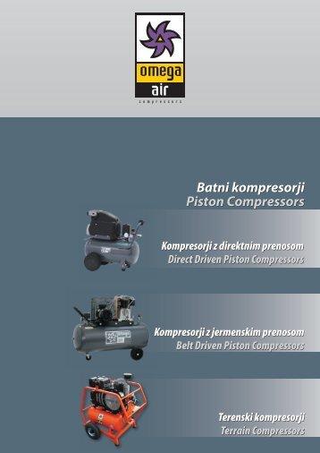 Batni kompresorji Piston Compressors