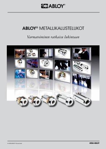 Lataa pdf (692 kb) - Abloy Oy