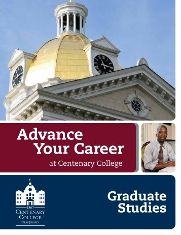 Advance Your Career - Centenary College
