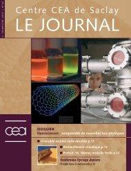 Journal de Saclay n°36 - CEA Saclay
