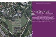 KONstruktiv 284, Dezember 2011 - Kammer der Architekten und ...