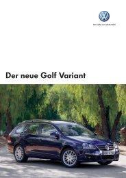 Der neue Golf Variant - Baki Automobile