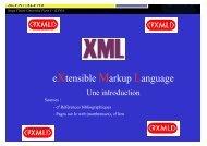 SLIDES XML - Accueil