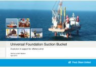 Universal Foundation Suction Bucket