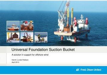 Universal Foundation Suction Bucket